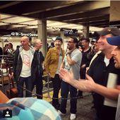 U2 jouent déguisés dans le métro new yorkais -04/05/15 - U2 BLOG