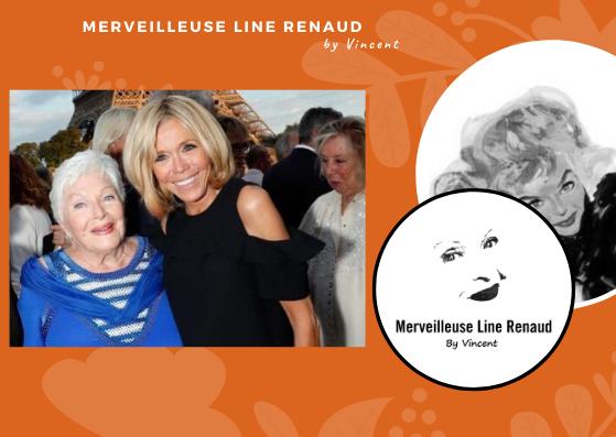 PRESSE WEB: Le Figaro - Anniversaire de Line Renaud : découvrez le tendre hommage d'Emmanuel Macron