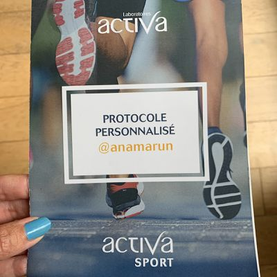 La cure Activa sport qui m'a boostée pour le reprise du run post confinement