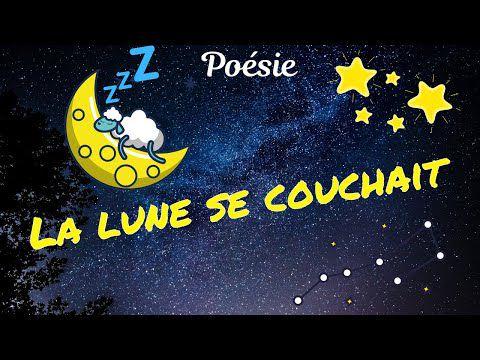 La lune se couchait de Maurice Carême...