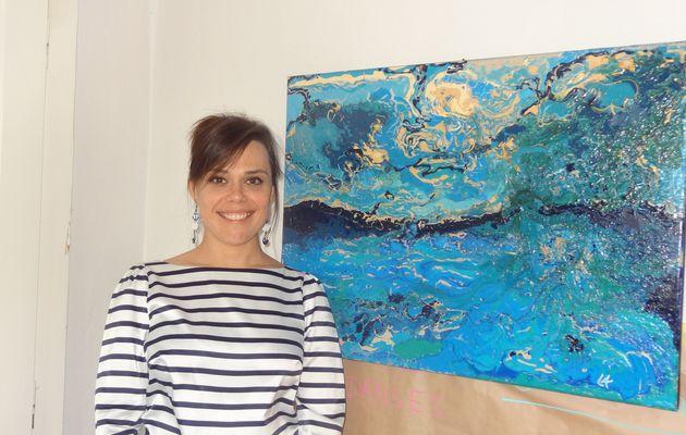 Découvrez la peinture de Laure-Anne à travers son exposition L.A Terre