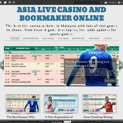 Asia Live Casino and Bookmaker Online
