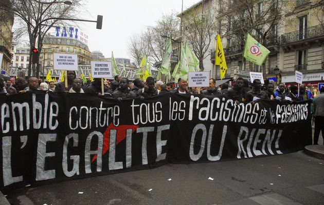 Journée mondiale contre le racisme : France, Paris, 21 mars 2015