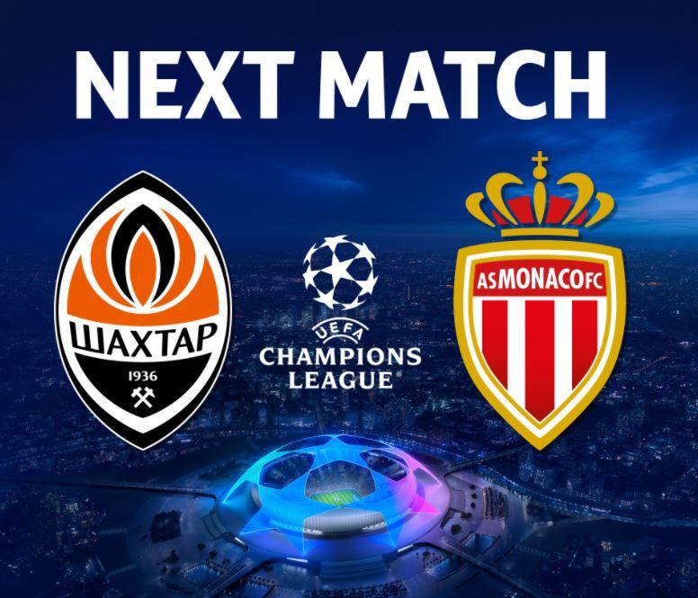 Shakhtar Donetsk / Monaco : Sur quelles chaînes suivre la rencontre mercredi ?