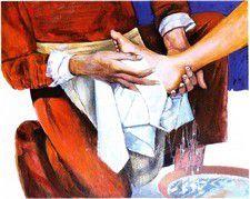 Jeudi saint (Jean 13, 1-17) (DiMail 260)