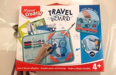 Le Travel Board Maped Créativ