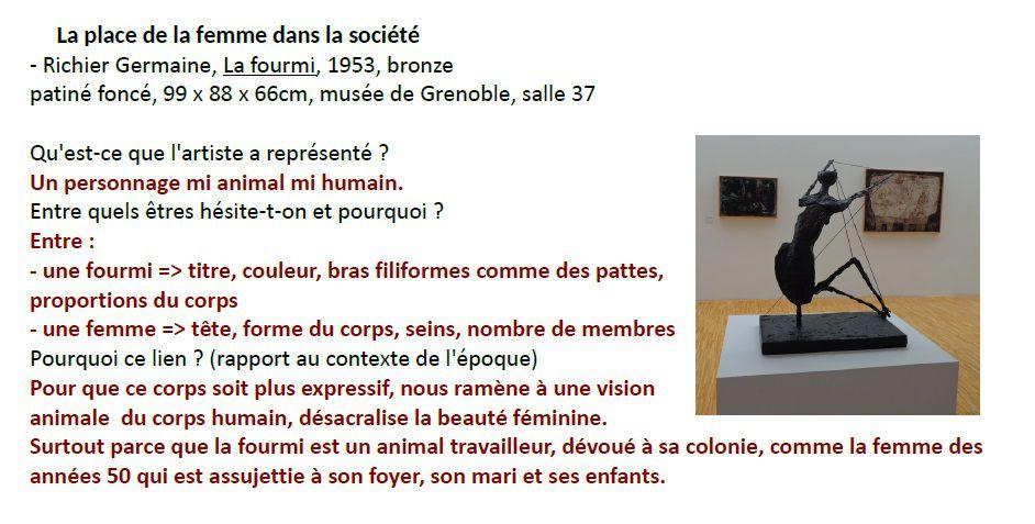 """EPI """"Féminisme, entre art et vie sociale"""" épisode 2, bilan des sorties"""