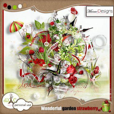 Wonderful garden strawberry de Manue Designs