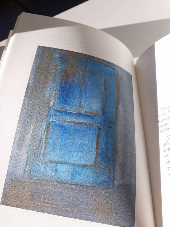 Quelques pages de Empreintes. Illustrations de Sophie Bourges