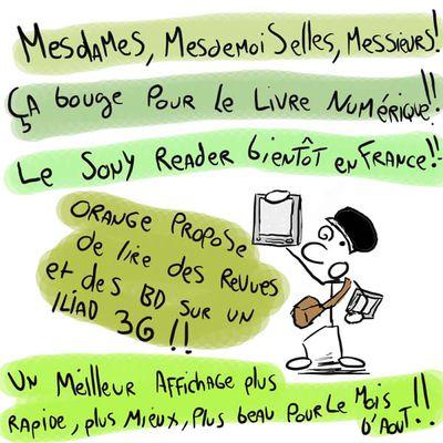 Read and go... pas pour tout de suite mais on s'en rapproche.