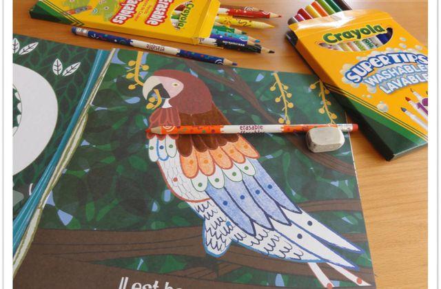 Astuces pour dessins réussis et parents tranquilles [Crayola]