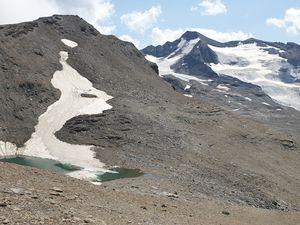 Petit lac glaciaire, Boviste couleur de plomb