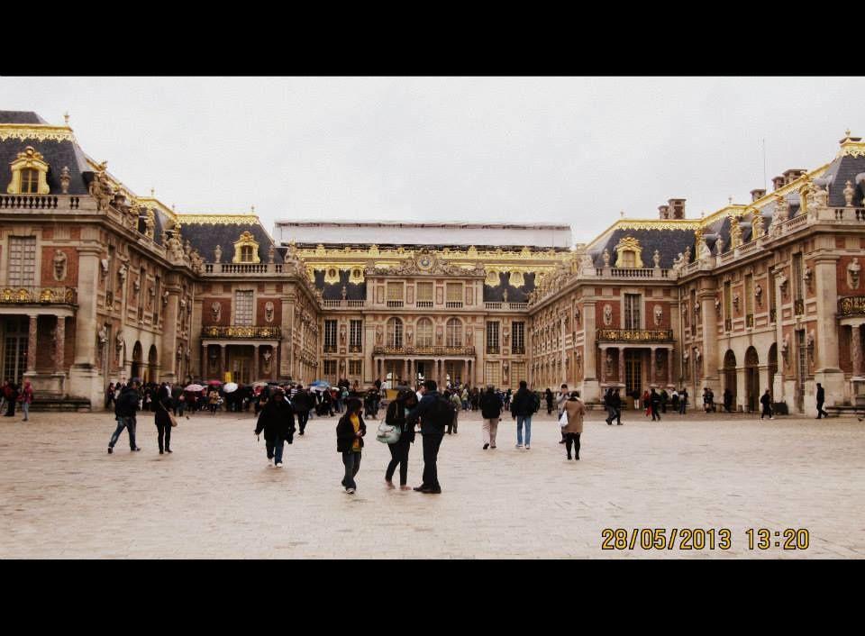 La visite du Chateau de Versailles et de son jardin