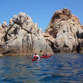 Sardegna 2019, una nuova avventura - Chapitre 14 - Budelli, Razzoli & Santa Maria, face à la Corse - Randonnées kayak : les balades de Yanike