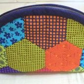 Cosmetic Bag Patchwork ~