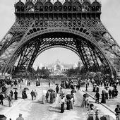 The Eiffel Tower in 1900 - Eiffel Tower - Google Arts & Culture