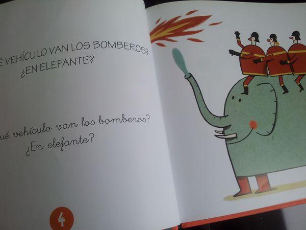 Soy bombero. Montse GANGES et Christian INARAJA (Dès 4 ans)
