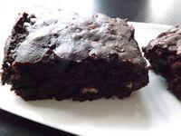 Vegan Fudgy Brownies  IG BAS, sans beurre, ni oeuf