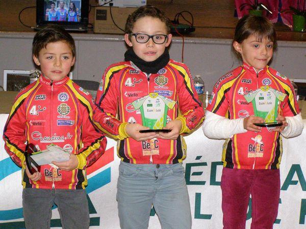 Les jeunes de l'école de cyclisme du Dreux CC sur tous les podiums et dans toutes les catégories