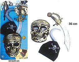 "rappel de déguisement ""Les Pirates"" de marque B & J International"