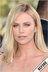 Une actrice célèbre...............