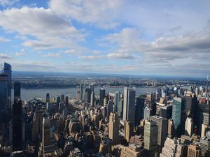 Vues de l'Empire state Building.