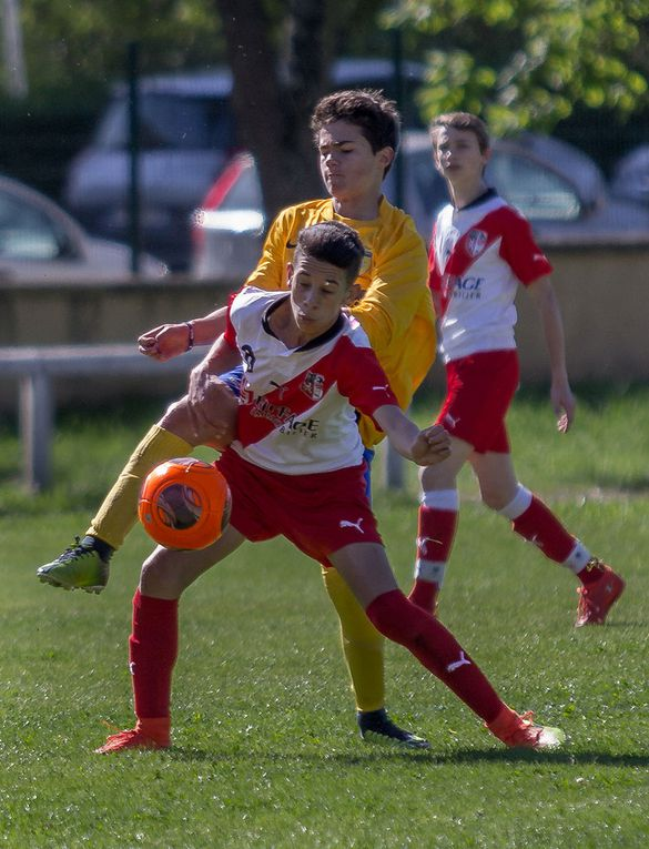 Fc Deux Fontaines - As Bellecour Perrache  2-5