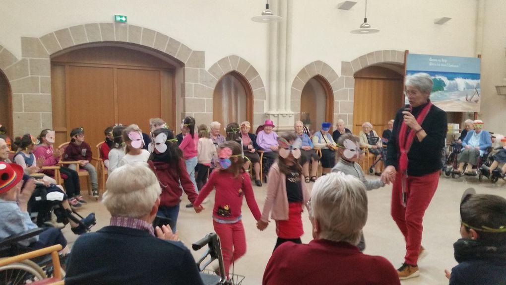 Carnaval à la communauté CP / CE1 le 4 avril 2019