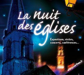 Nuit des églises Samedi 6 juillet