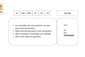 Solution Charade N°2