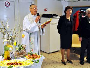 Bénédiction des aliments à Pâques en 2013, chez les Polonais à Algrange