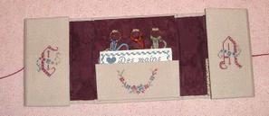 Cartonnages réalisés par Catherine, Françoise et Elyane lors des mercredis de Fontenay ...
