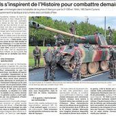 Coëtquidan: les élèves découvrent les combats de la 2e DB à Alençon, en 1944