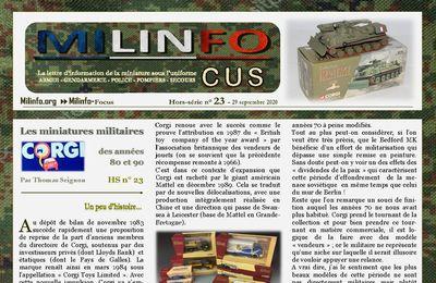 Milinfo-Focus HS23 : Les miniatures militaires Corgi des années 80 et 90