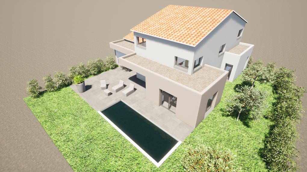 Décembre 2020 - Conception d'une Maison Individuelle à Lespignan (34)
