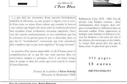 """""""Anna Hanoum"""", roman de Véronique Pornin"""