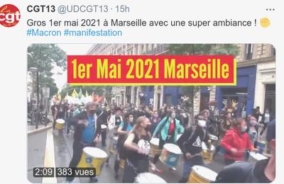 Gros Premier Mai à Marseille
