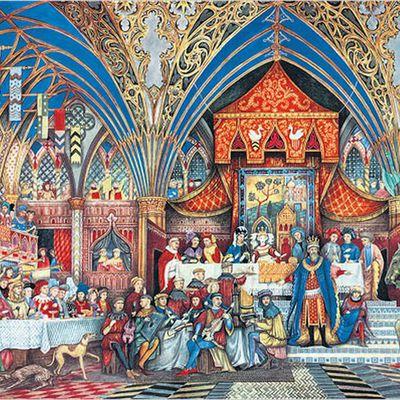 CONTE DE NOËL : GAUVAIN ET LE CHEVALIER VERT. -2/2-