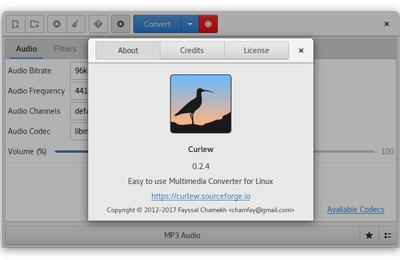 Curlew : Pour convertir tous vos fichiers audio et vidéo