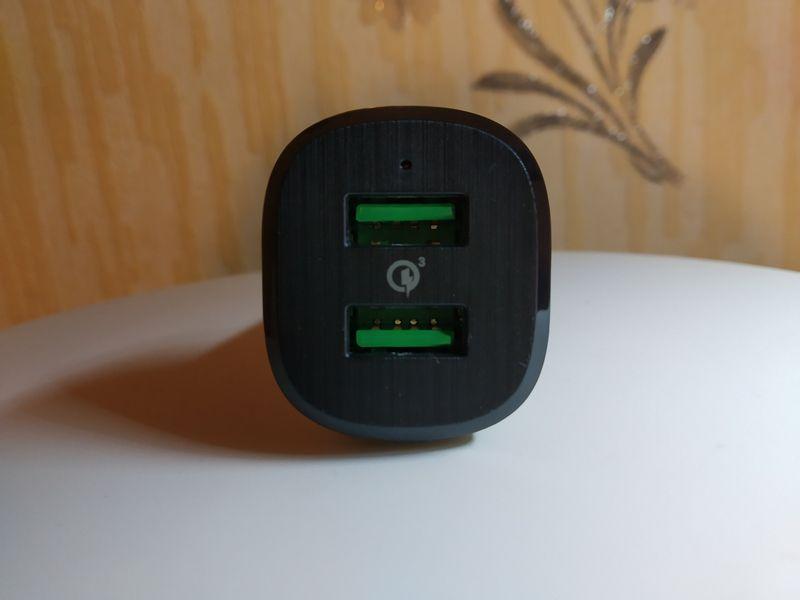 découverte du chargeur allume cigare 2 ports USB  39 Watts à technologie Quick Charge 3.0 - RAMPOW RBB21 @ Tests et Bons Plans