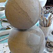 Modelage d'une boule