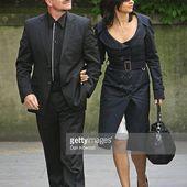 Bono - Funérailles de Sir Clement Freud -L'église St Bride -Londres -24/09/2009 - U2 BLOG
