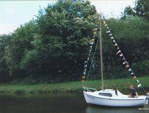 Vieux gréement cherche remplaçant, Saint-Gérand 56920..., pk 195 sur le canal de Nantes à Brest !