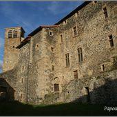 Abbaye à Pebrac - L'Auvergne Vue par Papou Poustache