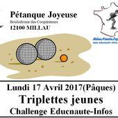 Le Concours de MILLAU sera la V° étape du Challenge EDUCNAUTE-INFOS - Le blog de EDUCNAUTE-INFOS