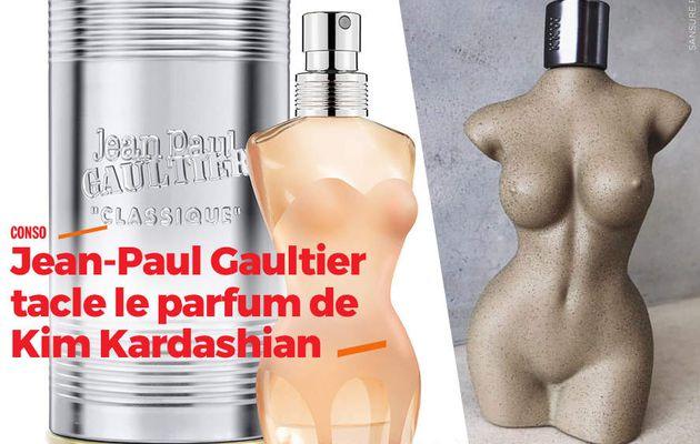 Jean-Paul Gaultier tacle le parfum de Kim Kardashian #plagiat