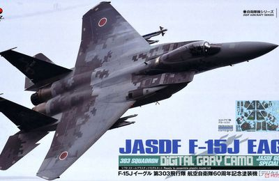 "Platz - Mitsubishi F-15J ""Eagle"" - 6 Kokudan - 303 Hikotai - 60th anniversary JASDF"