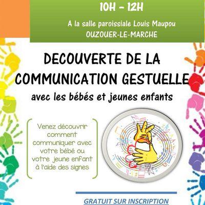 Venez découvrir comment communiquer avec votre bébé.