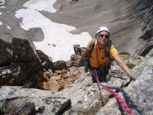 Laurence au Claps (Luc en Diois)  et escalade au Grand Pic de la Lauzière