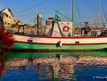 """Le sardinier """"Au gré des Vents"""" sur le Port de La Turballe, bateau de pêche de type sardinier"""